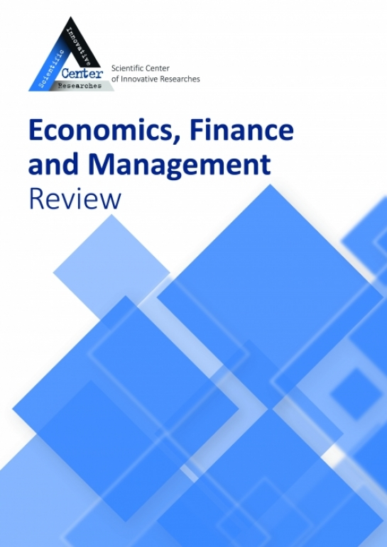 Economics, Finance and Management Review  № 1